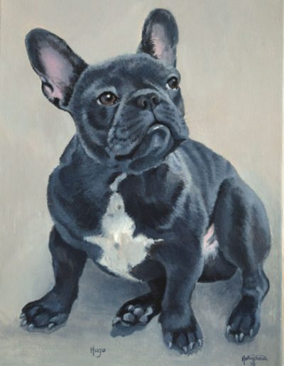 French-Bulldog-painting-on-canvas-acrylic-paint