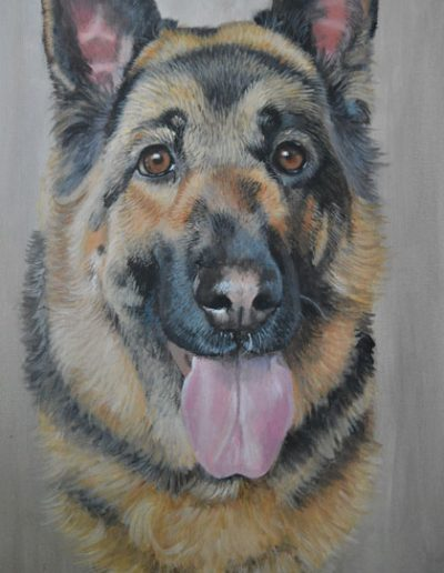German-Shepherd-painting-on-canvas-in-acrylic-paint