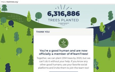 Paintpaws Supports #TeamTrees